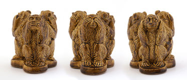 De beeldjes van apen Royalty-vrije Stock Foto's