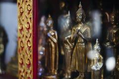De beeldjes van Boedha Stock Foto