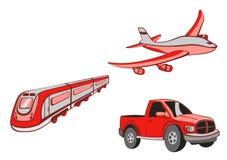 De Beeldverhalen van het vervoer Stock Afbeelding