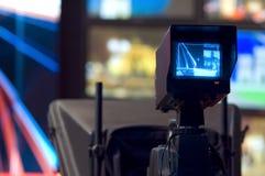 De beeldzoeker van de videocamera Stock Fotografie