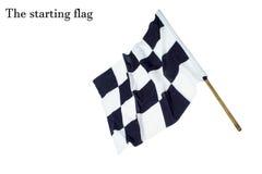 De beginnende vlag Royalty-vrije Stock Fotografie