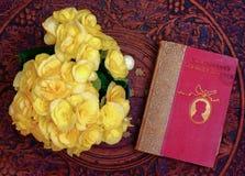 De begonia'sboek van de lijst Stock Afbeeldingen