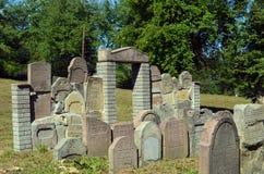 De begraafplaats royalty-vrije stock afbeelding