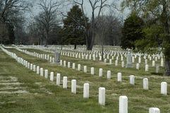 De begraafplaats van Arlington Royalty-vrije Stock Foto's