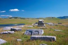 De Begraafplaats van Cathar stock afbeelding