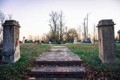 De Begraafplaats van de Hoffmanheuvel royalty-vrije stock afbeelding