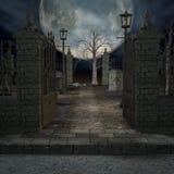 De Begraafplaats van de mysticus vector illustratie