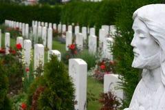De begraafplaats van de oorlog Royalty-vrije Stock Foto's