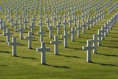 De begraafplaats van de oorlog Royalty-vrije Stock Fotografie