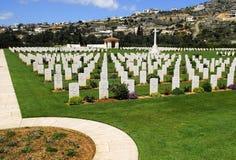 De begraafplaats van de oorlog in Kreta Royalty-vrije Stock Foto's
