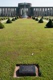 De Begraafplaats van de Oorlog van Taukkyan, Yangon, Myanmar Royalty-vrije Stock Fotografie