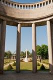 De Begraafplaats van de Oorlog van Taukkyan, Yangon, Myanmar Royalty-vrije Stock Afbeeldingen