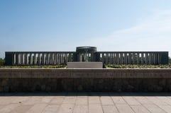 De Begraafplaats van de Oorlog van Taukkyan, Yangon, Myanmar Stock Afbeeldingen
