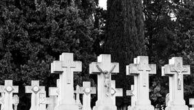 De begraafplaats van het deurgraf Royalty-vrije Stock Foto's