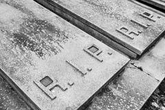 De begraafplaats van het deurgraf Stock Afbeeldingen
