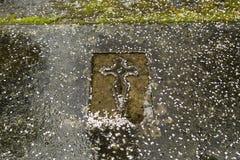 De begraafplaats van het deurgraf Royalty-vrije Stock Foto