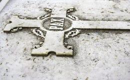 De begraafplaats van het deurgraf Stock Foto