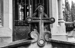 De begraafplaats van het deurgraf Royalty-vrije Stock Afbeeldingen