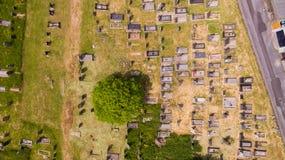 De Begraafplaats van het vogelsoog Stock Afbeeldingen