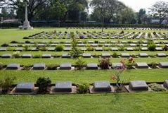 De Begraafplaats van Kanchanaburi Royalty-vrije Stock Afbeelding