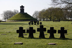 De Begraafplaats van La Cambe Stock Afbeeldingen