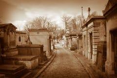 De begraafplaats van Lachaise van Pere Royalty-vrije Stock Fotografie
