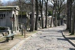 De begraafplaats van Lachaise van Pere Stock Afbeeldingen