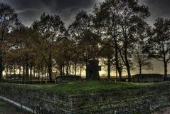 De Begraafplaats van Langemark Stock Foto's