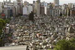 De begraafplaats van Recoleta, Buenos aires, Argentinië Stock Foto's