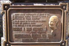 De Begraafplaats van Recoleta: Graf van Eva Peron Royalty-vrije Stock Afbeeldingen