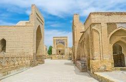 De begrafenis complex van chor-Bakr stock foto