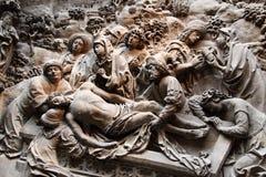 De begrafenis van Christus Stock Foto's