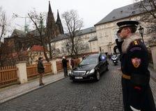 De begrafenis van Vaclav Havel Royalty-vrije Stock Fotografie