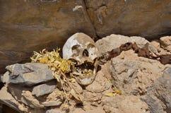 De begrafeniscentra, bouwden op rots voort Royalty-vrije Stock Afbeeldingen