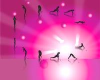 De Begroetingen van de yoga Royalty-vrije Stock Foto
