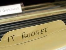 De Begroting van IT royalty-vrije stock foto's