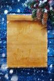De behandelde achtergrond van Kerstmis van de kunst sneeuw Royalty-vrije Stock Foto