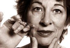 De Behandeling van Botox Royalty-vrije Stock Foto's