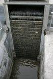 De behandeling van het afvalwater (puin) royalty-vrije stock foto