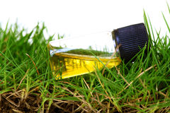 De behandeling van het gras en van de grond Royalty-vrije Stock Fotografie