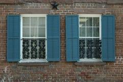 De behandeling van het venster royalty-vrije stock afbeeldingen