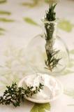 De Behandeling van Rosemary en van het Lichaam van de Thyme Royalty-vrije Stock Foto