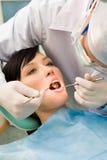 De behandeling van tanden stock foto's