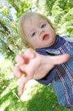 De behoeften van de baby Stock Foto