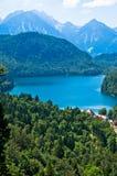 De Beierse Alpen Duitsland Stock Foto's