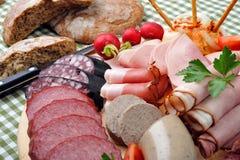 De Beierse Plaat van de Snack Stock Foto