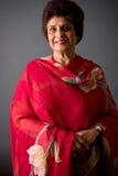 De bejaarde Indische Dame van het Oosten Stock Foto's