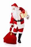 De bejaarde Kerstman Royalty-vrije Stock Afbeelding