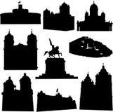 De bekende architectuur van Peru vector illustratie