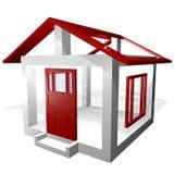 De Bekendheid van de huisbouw royalty-vrije illustratie